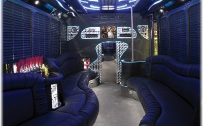 Party Bus rental Boston Interior